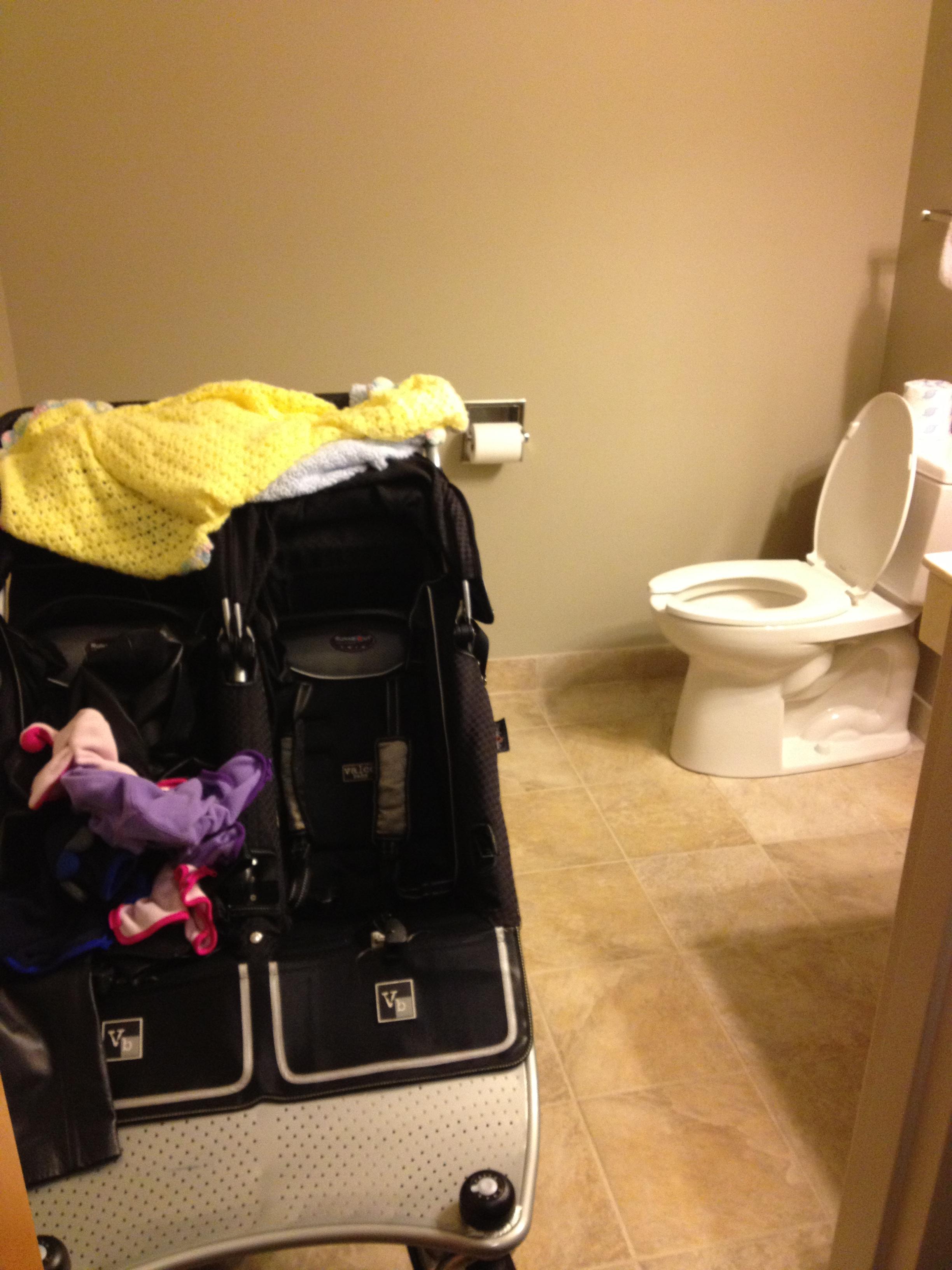 Ridgecrest bathroom stroller