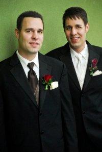 Daren as David's best man at our wedding in 2010!